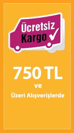 500 TL ve Üzeri Alışverişlerde Ücretsiz Kargo