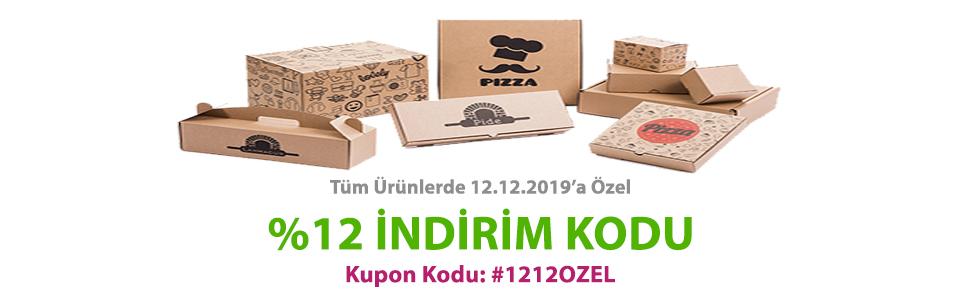 12.12.2019 'A ÖZEL TÜM ÜRÜNLERDE %12 İNDİRİM KODU