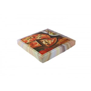 Geçmeli Standart Pizza Kutusu-A (100'lü Paket)