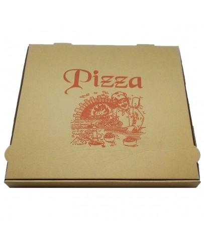 Sıvamalı Pizza Kutusu (100 Adet)