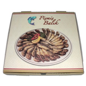Balık Kutusu (50'li Paket)