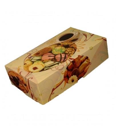 500 Gr'lık Standart Kuru Pasta Kutusu B (100'lü Paket)