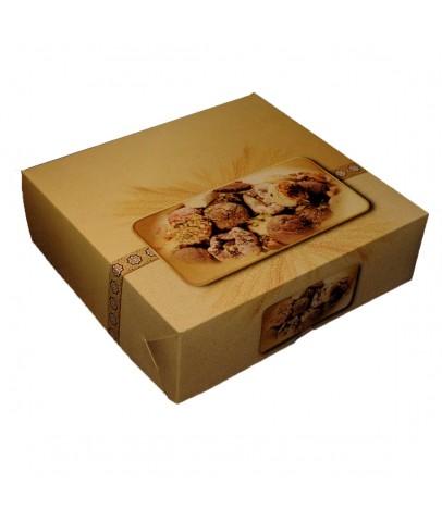 1000 Gr'lık Standart Kuru Pasta Kutusu-C (100'lü Paket)