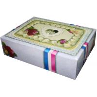 Standart Şekilli Pasta Kutusu-A (50'li Paket)